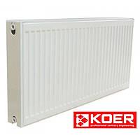 Радиатор стальной KOER 500x400 Тип 22 - Боковое подключение (Чехия)