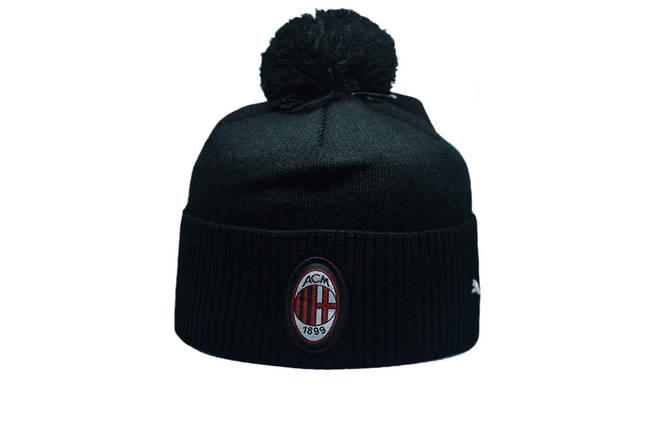 Шапка з помпоном Flexfit Juventus 53-57 см Чёрная (F-0918-41), фото 2