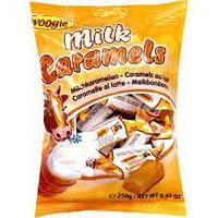 Цукерки Milk Caramels (молочна карамель Корівка) Woogie Австрія 250г