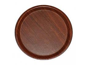 Поднос нескользящий круглый ламинированный Helios 38 см 7965Т