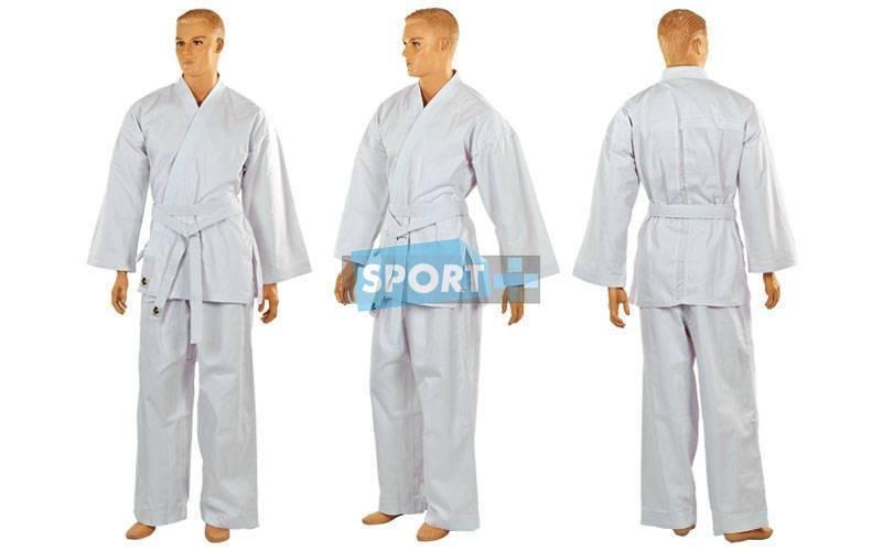 Кимоно для каратэ белое AD NEW MA-6018-3 (160см)