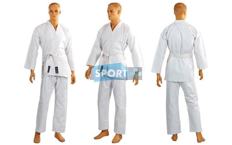 Кимоно для каратэ белое MATSA МА-0016-2 рост 150 см