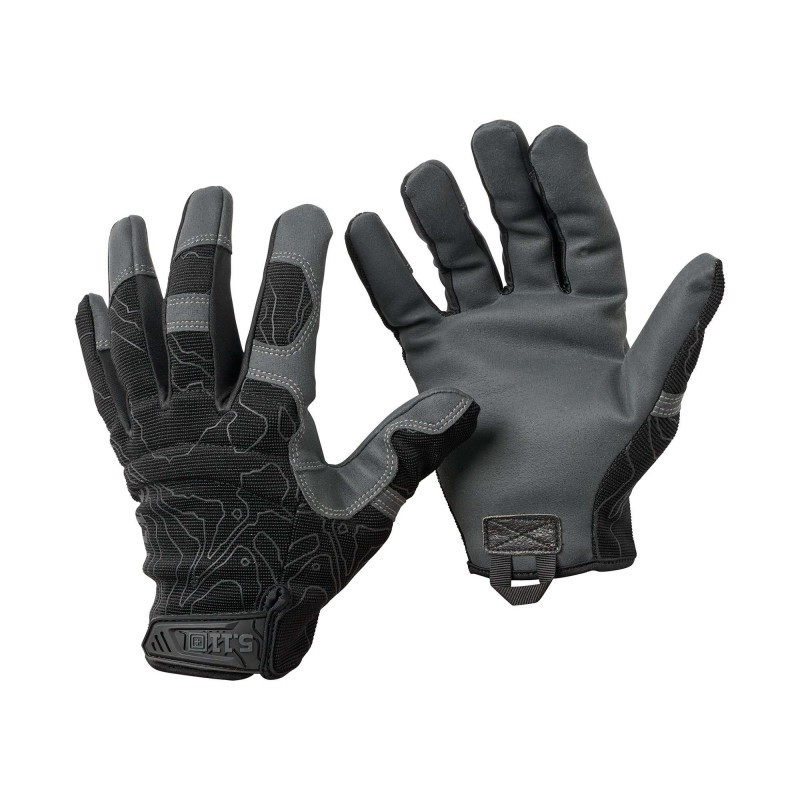 "Тактичні рукавички ""5.11 Tactical High Abrasion"" Black"