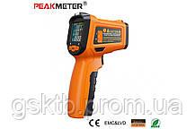 PM6530D пирометр Peakmeter, до 800 °С, температура и влажность воздуха, термопара К-типа, UV-излучатель, фото 3