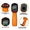 PM6530D пирометр Peakmeter, до 800 °С, температура и влажность воздуха, термопара К-типа, UV-излучатель, фото 4
