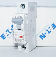 Автоматический выключатель 20 A Eaton HL-C20/1 1P тип C 194732