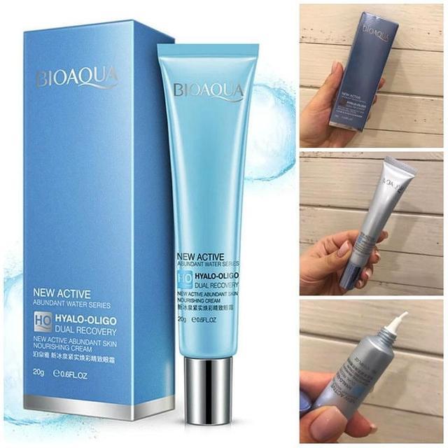 BIOAQUA New Active Hyalo-Oligo Dual Recovery Eye Cream