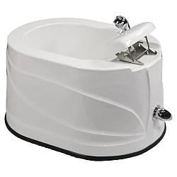 Акриловая ванночка для педикюра СПА-3 педикюрная ванночка для салона красоты