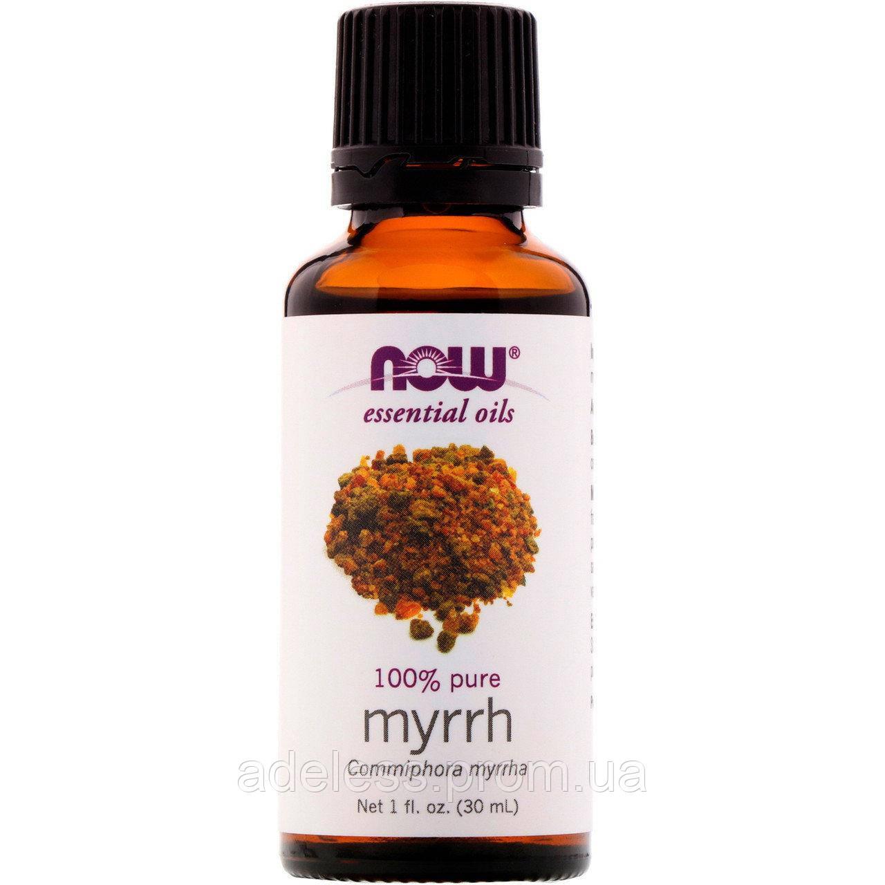 Эфирное масло Мирры Now Foods Murrh oil 100% pure, 30 мл
