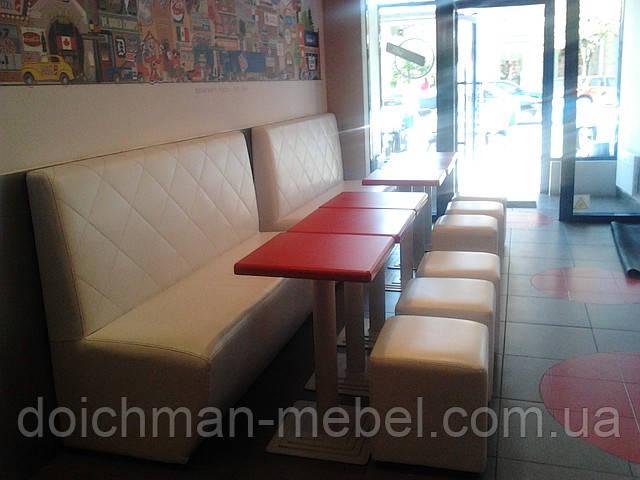 Мягкая мебель для кафе, баров, ресторанов, клубов