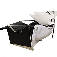 Парикмахерская мойка + кресло с электро регулируемой спинкой + подставка для ног (2 электропривода) E006