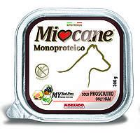 """Влажный корм """"Miocane Monoproteico Only Ham"""" 10/5 (прошутто для собак) 300 гр, Morando"""