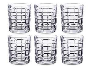 Набор стаканов для виски Bohemia TIMESQUARE 230 мл 6 штук 024-111