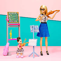 Ігровий набір Лялька Барбі Я можу бути Вчителька музики - Barbie Music Teacher FXP18, фото 8