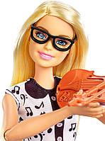 Ігровий набір Лялька Барбі Я можу бути Вчителька музики - Barbie Music Teacher FXP18, фото 2
