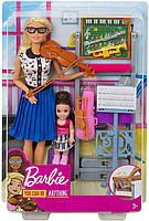 Ігровий набір Лялька Барбі Я можу бути Вчителька музики - Barbie Music Teacher FXP18, фото 10