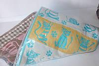 Лляні рушники для обличчя 6 шт. кішки