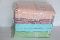 Лицевые махровые полотенца 8 шт. кубик