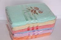 Банные полотенца махровые 6 шт