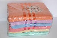 Банные полотенца махровые упаковка 6 штук