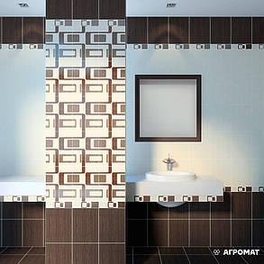 Плитка напольная Golden Tile Velvet ВЕЛЬВЕТ КОРИЧНЕВЫЙ Л67730, фото 2
