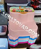 Антиковзка дитяча пластикова сходинка - підставка - табурет під раковину або унітаз. Туреччина., фото 2