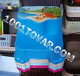 Антискользящая детская пластиковая ступенька - подставка - табурет под раковину или унитаз. Турция., фото 7