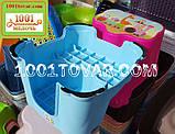 Антиковзка дитяча пластикова сходинка - підставка - табурет під раковину або унітаз. Туреччина., фото 8