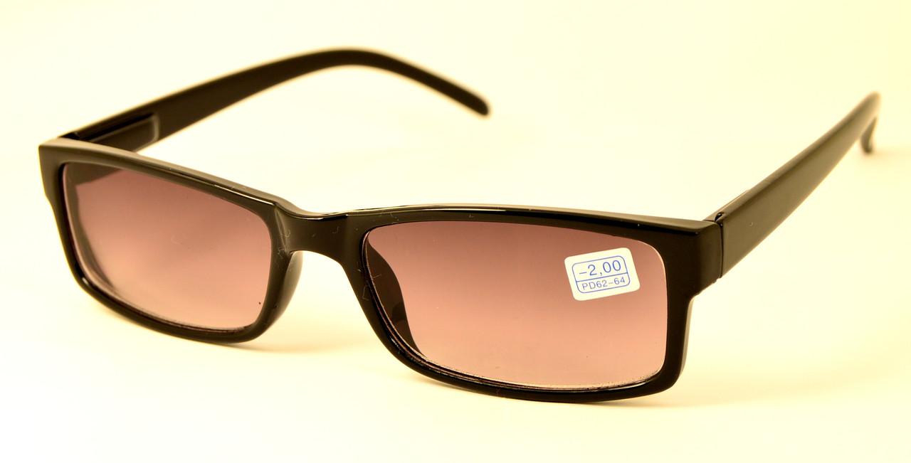 Чорні окуляри тоновані (МС 6007 тон -)