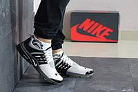 Мужские кроссовки Nike Presto  чорні з бежевим (в наличии 41, 42, 43, 44, 45 р)