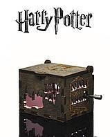"""Музыкальная Шкатулка """"Harry Potter - Гарри Поттер"""" (Бразильский Орех реверс ROSE)"""