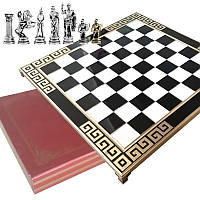 "Шахматы ""Восстание Рима"" 45х45 Marinakis, чёрная доска, металлические"