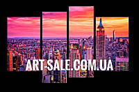 Модульная картина Нью Йорк панорама