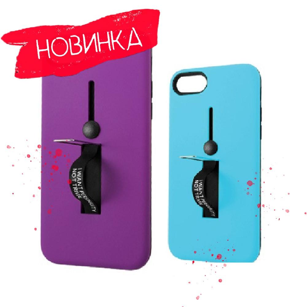 4 кольори, Чохол Kickstand Soft Touch з тримачем Apple iPhone 6 / Чехол Soft Touch с держателем Apple iPhone 6