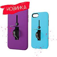 4 кольори, Чохол Kickstand Soft Touch з тримачем Apple iPhone 6 / Чехол Soft Touch с держателем Apple iPhone 6, фото 1