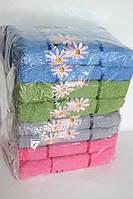 Банные махровые полотенца ромашки 8 шт.