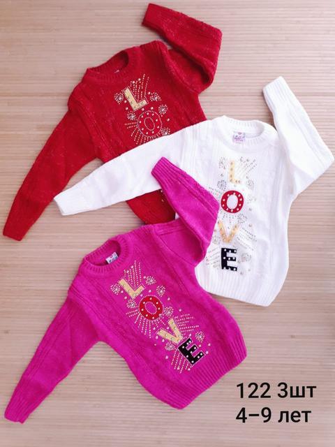 В'язані кофти і светри для дівчаток
