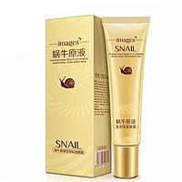 Крем для кожи вокруг глаз с экстрактом улитки Images Snail Eye Cream