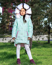 Дитяча зимова куртка на дівчинку ZKD-14