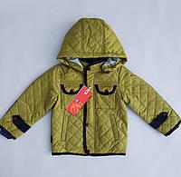 """Детская куртка для мальчика демисезонная """"Тим оливка"""""""