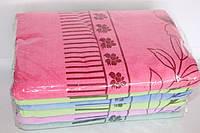 Банные мягкие махровые полотенца 6 шт.