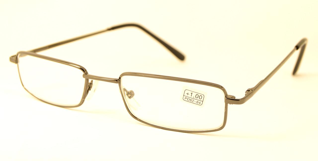Окуляри для зору метал скло (SL 86002 сер)