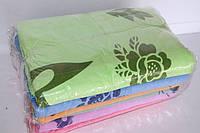 Махровые банные полотенца розочки 6 шт.