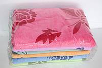 Махровые банные полотенца розочка 6 шт.