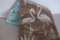 Полотенца льняные для лица 12 шт. Фламинго