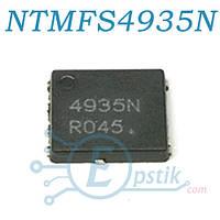 NTMFS4935NT1G, Mosfet транзистор N канал, 30В 93А, QFN8