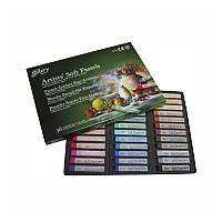 Пастель сухая, профессиональная, мягкая, 36 цветов, квадратная, MPV-36, MUNGYO