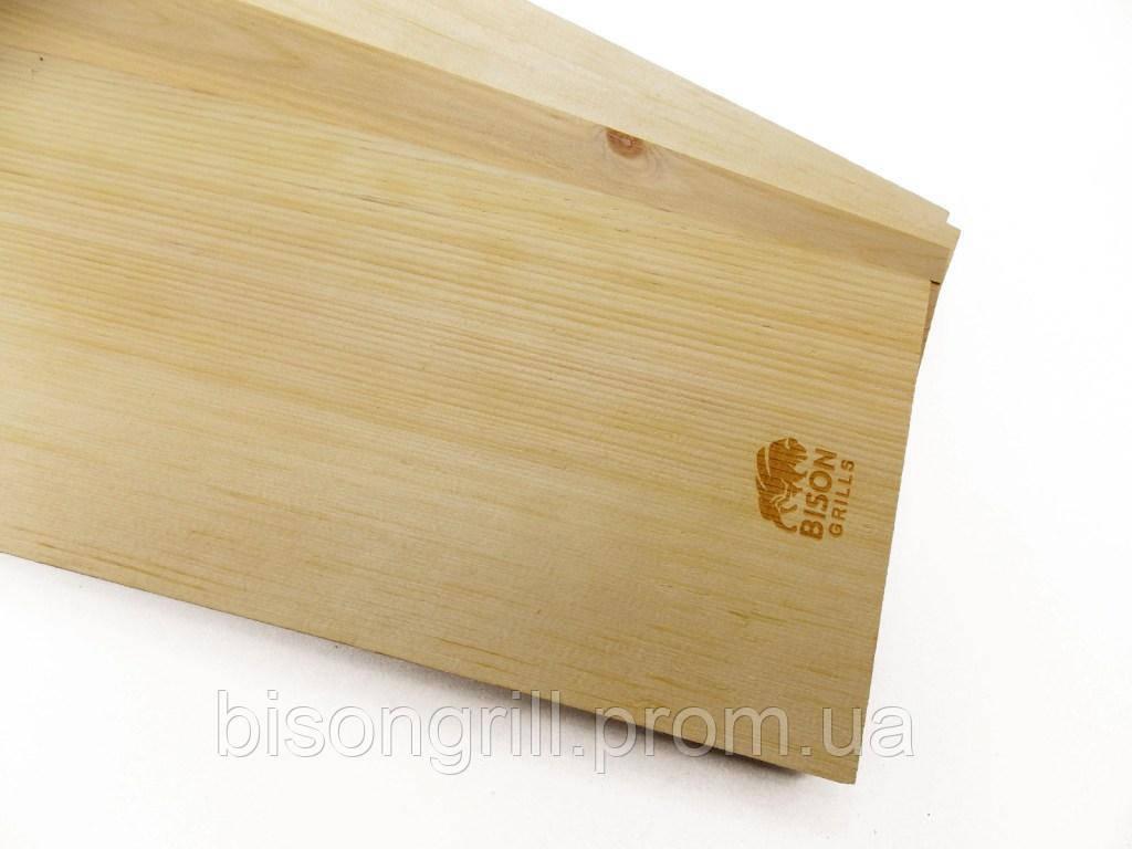 Гриль-доска из шелковицы BisonGrill  (2 шт)  25х15 см