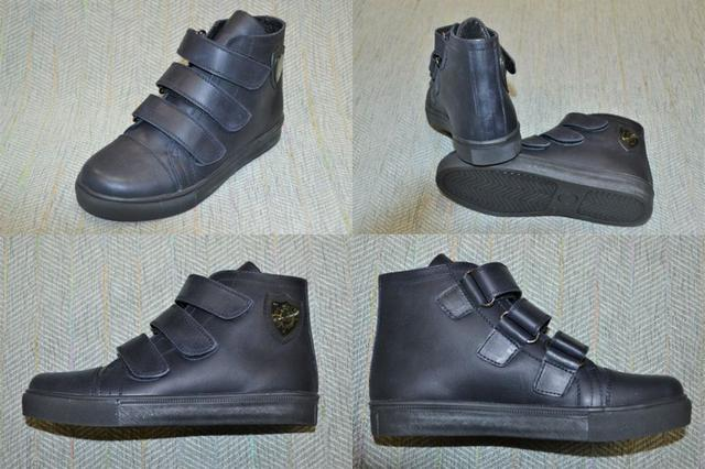 Подростковые демисезонные ботинки мальчик, Vifesst фото
