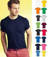 Мужская футболка Sofspun цвет Белый Fruit of the Loom  от 1 шт